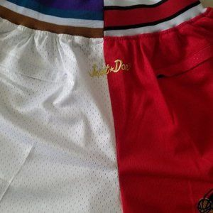 New NBA Chicago Bulls Utah Jazz Basketball Shorts
